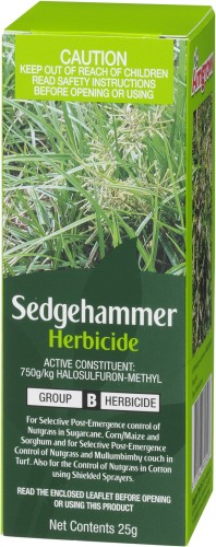 sedgehammer herbicide 25g angle